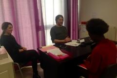 Consultation avec interprète
